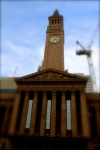 Erected between 1920 and 1930, the heritage listed City Hall is seen as the heart of the City. Designed by architects Hall and Prentice, the building features a 92-metre Clock Tower, which is currently being refurbished.